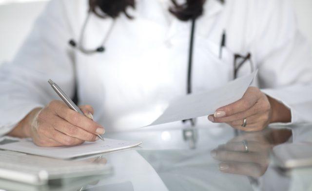 writing prescription