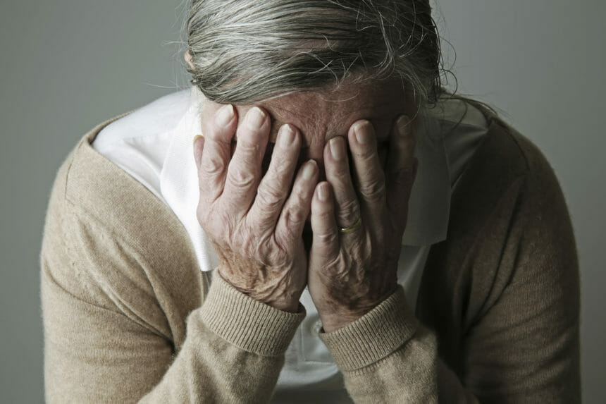 elderly old depression anxiety dementia